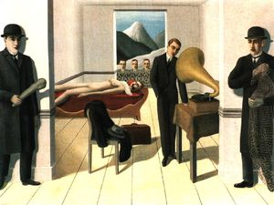 Rene Magritte - The threatened assassin moma ny