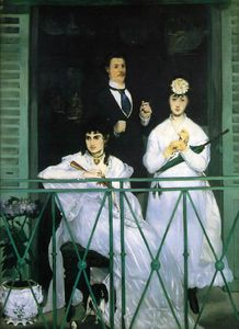 Edouard Manet - The balcony, Musee d-Orsay, Paris