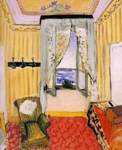 Henri Matisse - My Room at the Beau-Rivage, oil on canvas, Phi