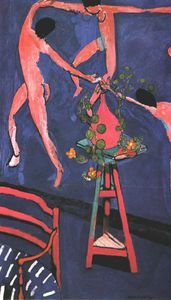 Henri Matisse - Nasturtiums with 'La Danse', , Oil on canvas Pu
