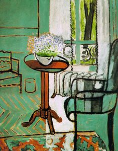 Henri Matisse - The Window, oil on canvas, Detroit Institute o