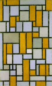 Piet Mondrian - Gray lt brown
