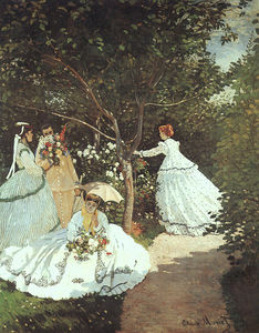 Claude Monet - 67 The Women in the Garden