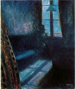 Edvard Munch - Night in St. Cloud