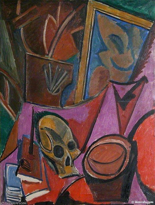 Nature morte a la tete de mort by Pablo Picasso (1881-1973, Spain)