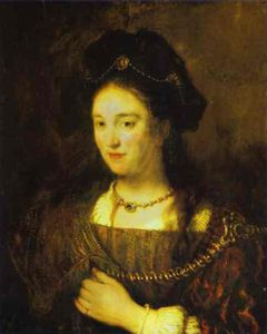 Rembrandt Van Rijn - The artist-s wife, saskia