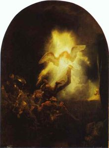 Rembrandt Van Rijn - The Resurrection of Christ