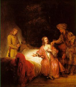 Rembrandt Van Rijn - Joseph accused by potiphar-s wife ng washingt
