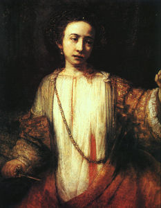 Rembrandt Van Rijn - Lucretia institute of art, minneapolis