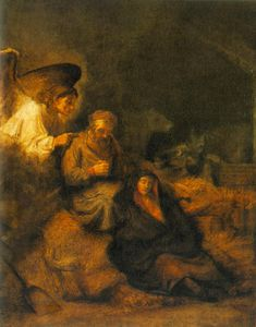 Rembrandt Van Rijn - The dream of st joseph museum of fine arts
