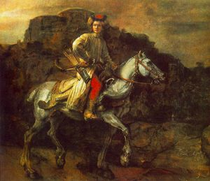 Rembrandt Van Rijn - The polish rider frick collection ny
