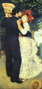 Pierre-Auguste Renoir - Dance in the Country, oil on canvas, Musée d-Or