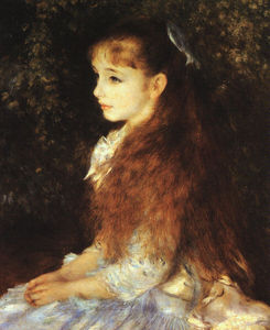 Pierre-Auguste Renoir - Irene Cahen d'Anvers, E.G. Buhrle Collection at