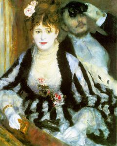 Pierre-Auguste Renoir - La loge, Courtauld Institute Galler