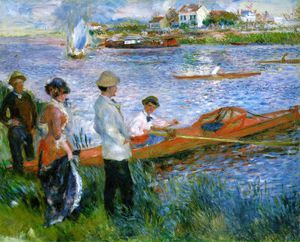 Pierre-Auguste Renoir - Oarsmen at Chatou, National Gall