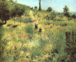 Pierre-Auguste Renoir - Path Leading to the High Grass, approx. Musée d