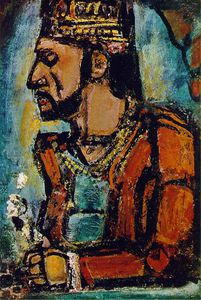 Georges Rouault - The old king, Carnegie Institute Mus