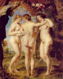 Peter Paul Rubens - The three graces, prado