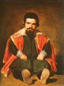 Diego Velazquez - Don Sebastián de Morra, oil on canvas, Museo