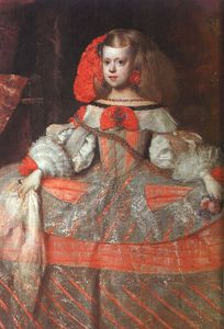 Diego Velazquez - The Infanta Margarita (perhaps finished by Mazo),