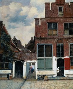 Jan Vermeer - Little street