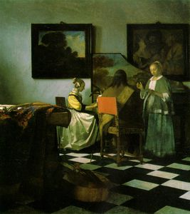 Jan Vermeer - The concert, ca Isabella St
