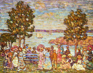 Maurice Brazil Prendergast - The holiday