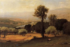 George Innes - The perugian valley