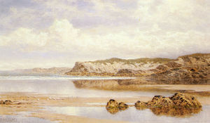 Benjamin Williams Leader - The incoming tide, porth newquay