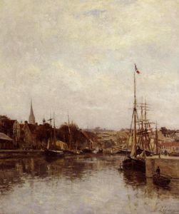 Stanislas Lepine - Caen, The Dock of Saint-Pierre