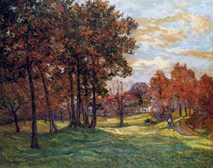 Maxime Emile Louis Maufra - Autumn Landscape at Goulazon, Finistere