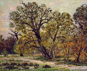 Maxime Emile Louis Maufra - Autumn, fontainebleau forest
