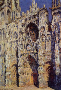 Claude Monet - Rouen cathedral, full sunlight