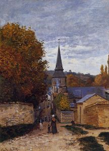 Claude Monet - Street in Sainte-Adresse