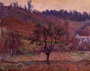 Claude Monet - The Val de Falaise