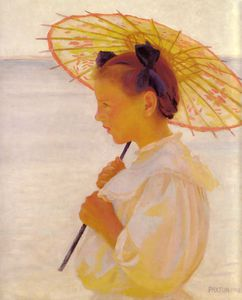 William Macgregor Paxton - The chinese parasol