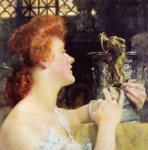 Lawrence Alma-Tadema - The golden hour