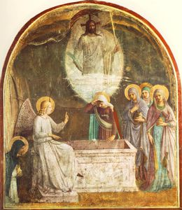 Fra Angelico - Resurrection of Christ and Women at the Tomb