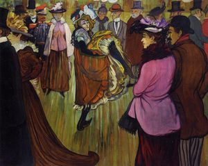 Louis Anquetin - At the Moulin Rouge
