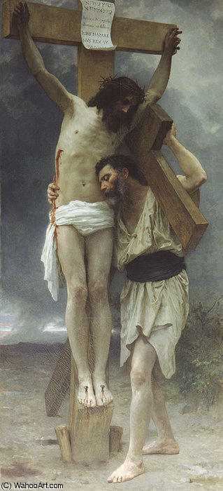 Compassion! by William Adolphe Bouguereau (1825-1905, France)