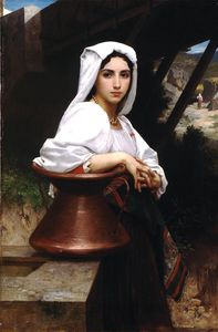 William Adolphe Bouguereau - Italian girl drawing water