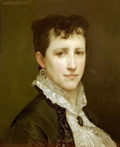 William Adolphe Bouguereau - Portrait of Miss Elizabeth Gardner Bouguereau