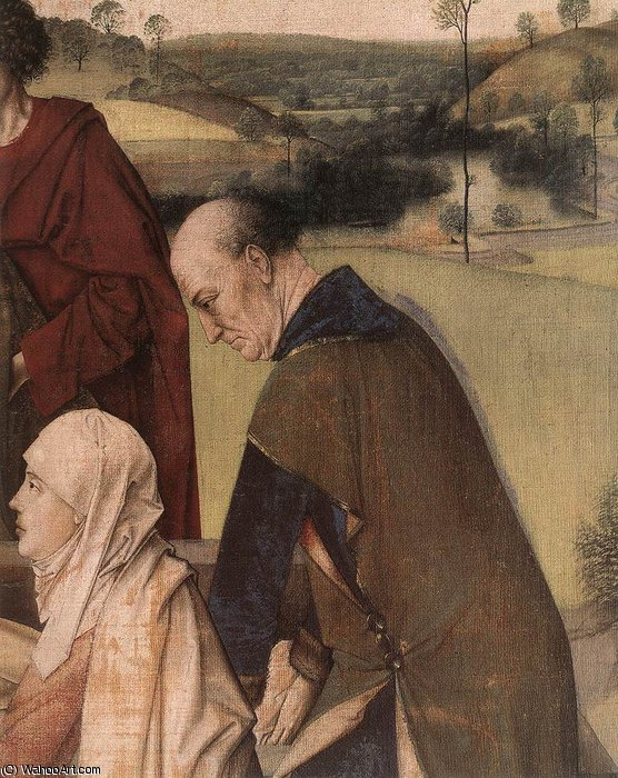 The entombment (detail) by Dieric Bouts (1415-1475) | Art Reproduction | WahooArt.com
