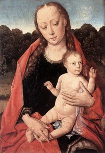Dieric Bouts - The Virgin and Child