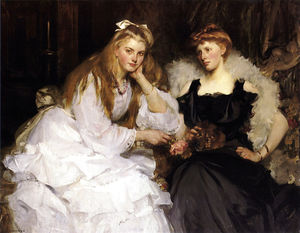 James Jebusa Shannon - Portrait of a Ladies
