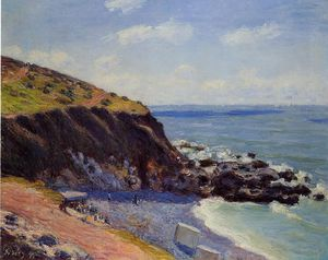 Alfred Sisley - Lady's cove - langland bay, morning