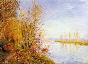 Alfred Sisley - The Chemin de By through, St. Martin's, Summer