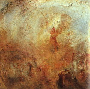 William Turner - Angel Standing in a Storm
