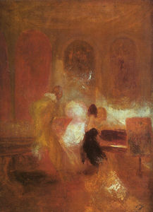 William Turner - Music party