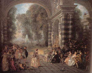 Jean Antoine Watteau - Pleasures of the Ball